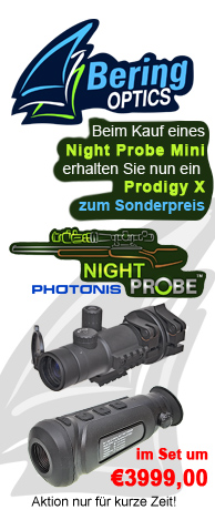 Aktion: Bering Optics Night Probe Mini & Prodigy X zum Aktionspreis