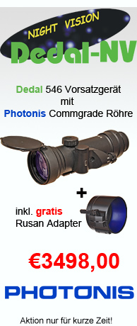 Aktion: Dedal 546 Commgrade inkl. gratis Montage Adapter